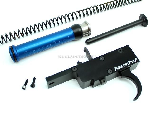 AirsoftPro - 90 degree CNC trigger set for VSR rifles - M150