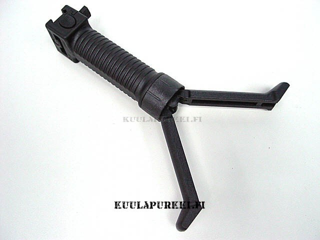 Tactical Foregrip Grip/Bipod Black
