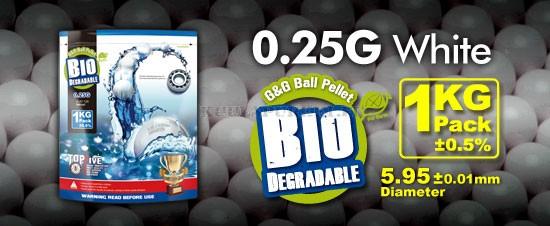G&G 0,25g BIO - 4000 kpl