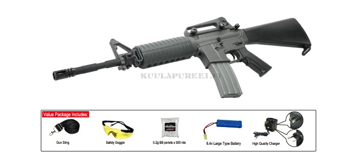 Airsoftase CA Sport Line M15A4 Tactical Carbine  (Value Package)