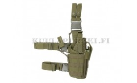 NEW TORNADO type leg holster - olive