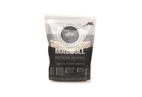 Airsoftkuula Madbull Precision Grade 0,20g - 4000 kpl