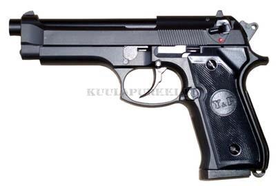 Airsoftase M92F Musta