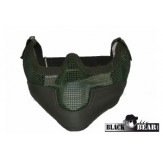 BLACK BEAR HALF MASK RAIDER OD