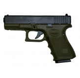 Airsoftase KJ WORKS GLOCK 32C METAL VERSION - OD