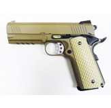 Airsoftase WE Hi Capa 4.3 Desert Warrior Sand (No Markings)